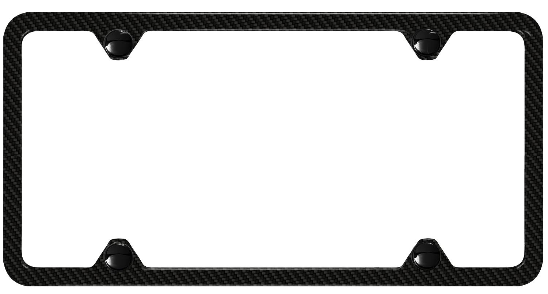 Audi S5 Slimline license plate frame - Carbon Fiber. Logo ...